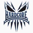 Hardcore TShirt - Blue DarkEdge by Coreper