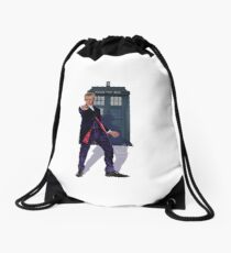12th Doctor Drawstring Bag