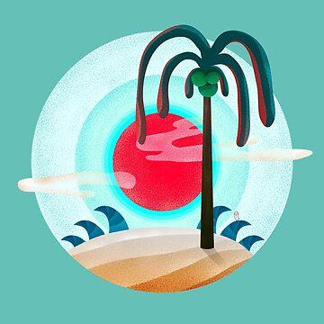 Sunny chic island by OwlyChic