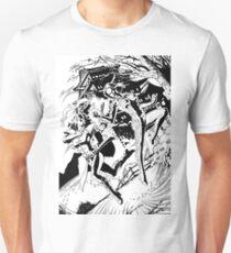 Sukothai vs. The Great Evil Witch (B&W) Unisex T-Shirt