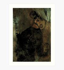 A Somewhat Dramatic Moment Art Print