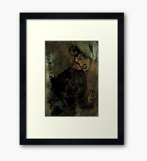 A Somewhat Dramatic Moment Framed Print