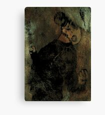 A Somewhat Dramatic Moment Canvas Print