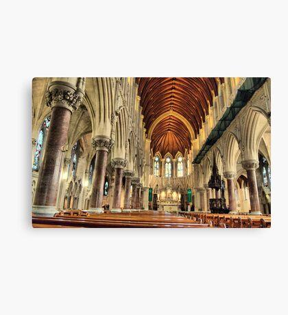 st colemans church ,cobh co.cork ireland Canvas Print
