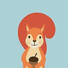 Nutty Squirrel  by KortoGott