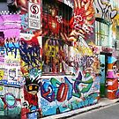 Melbourne Graffiti photographed by Roz McQuillan by Roz McQuillan