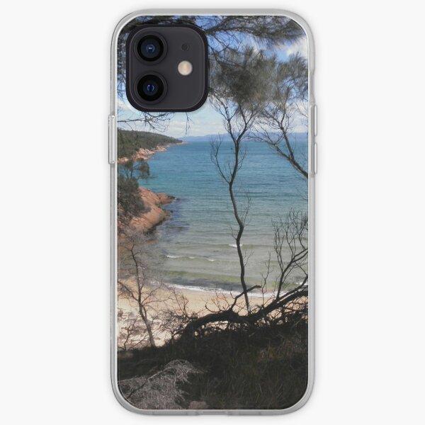 Pretty Inlet, Coles Bay, Tasmania, Australia. iPhone Soft Case