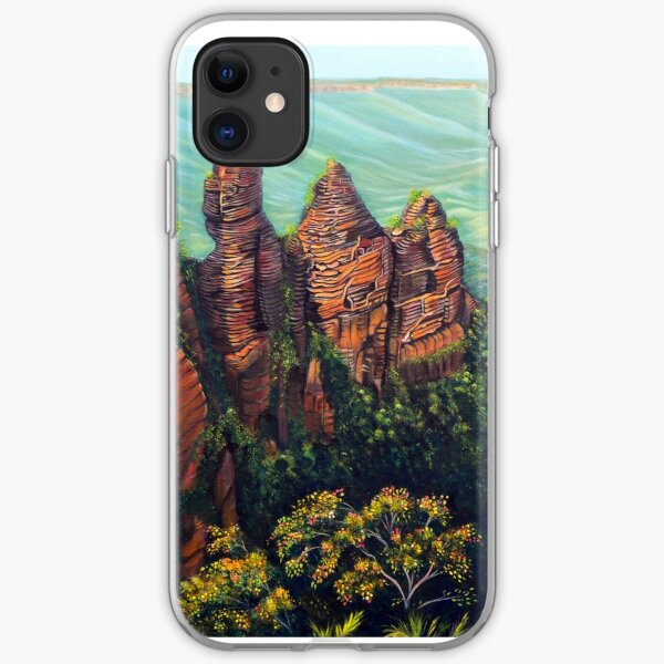 Timeless, Blue Mountains iPhone Soft Case