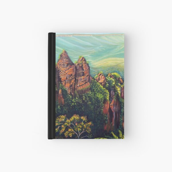 Timeless, Blue Mountains Hardcover Journal
