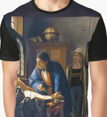 The Doctor and Vermeer's Geographer Graphic T-Shirt
