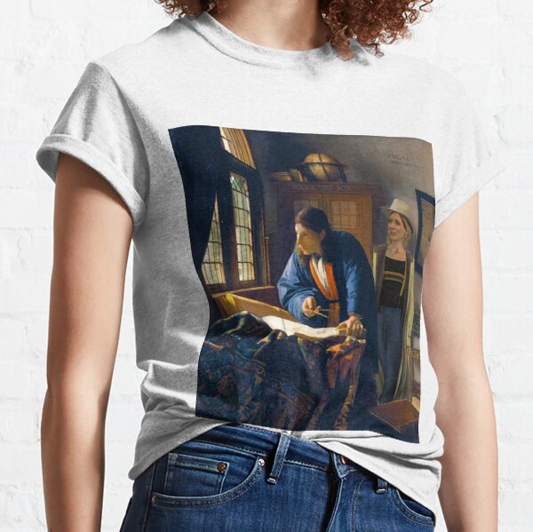 The Doctor and Vermeer's Geographer Classic T-Shirt