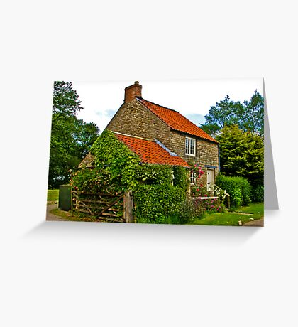 Country Cottage - Nunnington Greeting Card