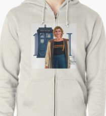 13th Doctor Zipped Hoodie
