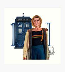 13th Doctor Art Print