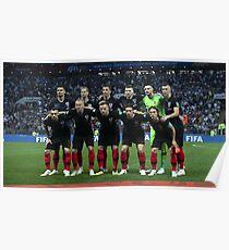 Kroatien WM weg Poster