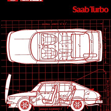 SAAB 99 TURBO by ThrowbackMotors