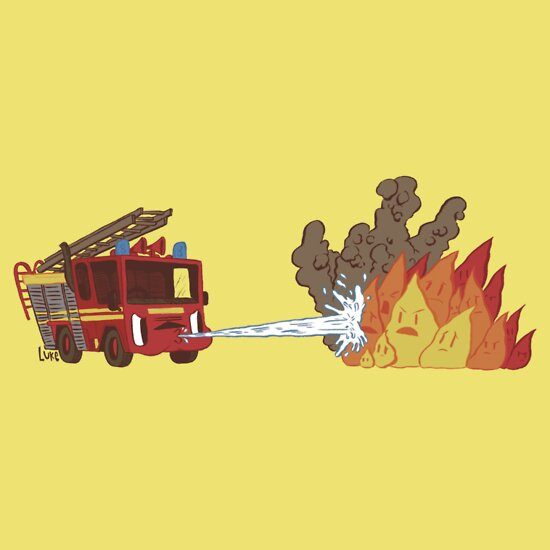 TShirtGifter presents: Fire vs Engine