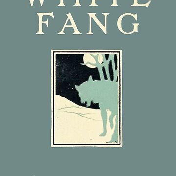 White Fang Jack London First Edition Cover by buythebook86