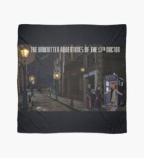 The 13th Doctor and the Paternoster Detective Agency Scarf