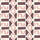Pink Fall Tribal #redbubble #tribal by designdn