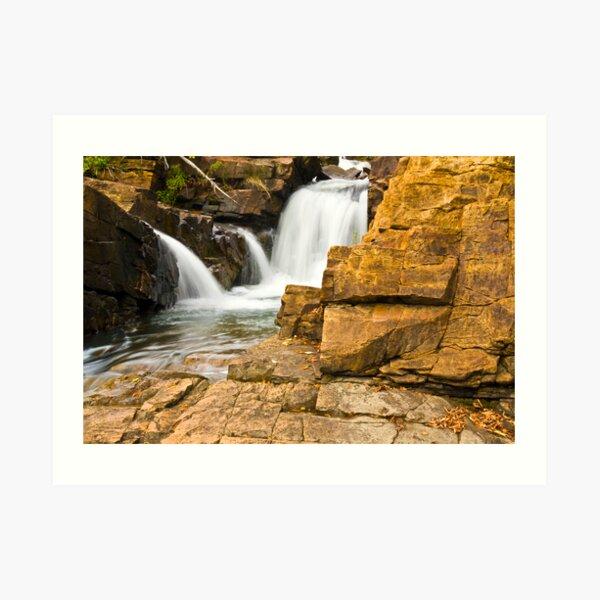 Ticonderoga Waterfalls Art Print