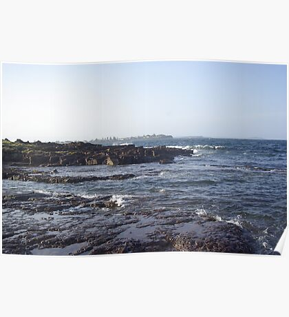 Waterscape: Shellharbour looking to Barrack Point Poster