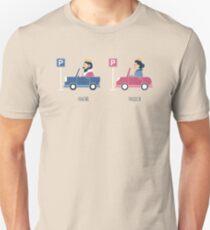 Opposites - Parking Unisex T-Shirt