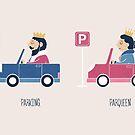 Opposites - Parking by Teo Zirinis