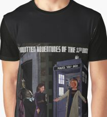 The 13th Doctor and the Paternoster Detective Agency Graphic T-Shirt