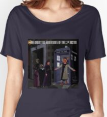 The 13th Doctor and the Paternoster Detective Agency Women's Relaxed Fit T-Shirt