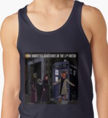 The 13th Doctor and the Paternoster Detective Agency Tank Top