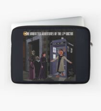 The 13th Doctor and the Paternoster Detective Agency Laptop Sleeve