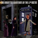 The 13th Doctor and the Paternoster Detective Agency by Marty Jones