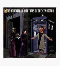 The 13th Doctor and the Paternoster Detective Agency Photographic Print