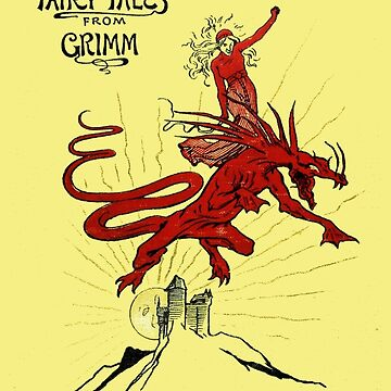 Grimm's Fairy Tales First Edition Cover by buythebook86