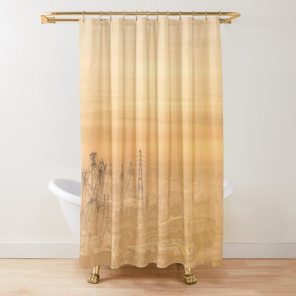 Sunset Haze Shower Curtain