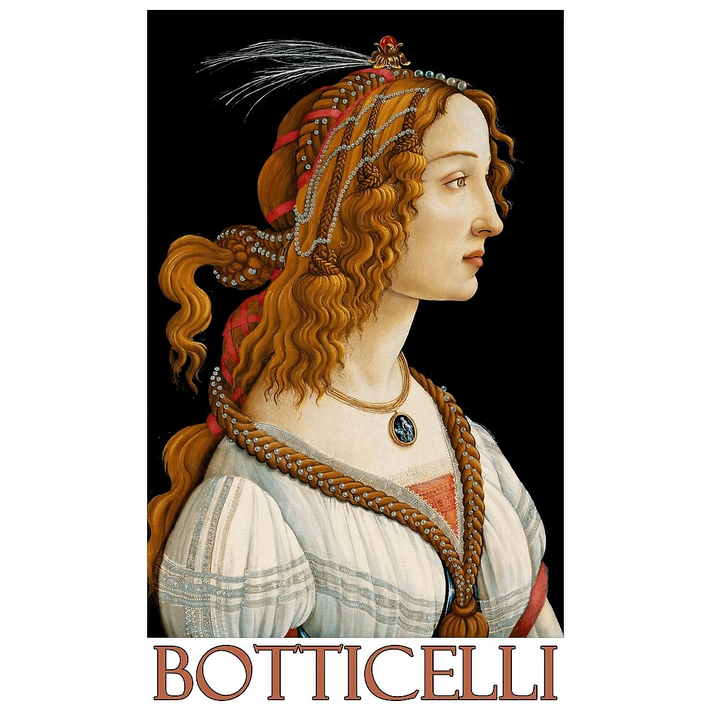 Portrait of a Lady (c. 1483) by Sandro Botticelli by Chunga