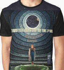 Doctor Who and the Abandoned Power Plant Graphic T-Shirt