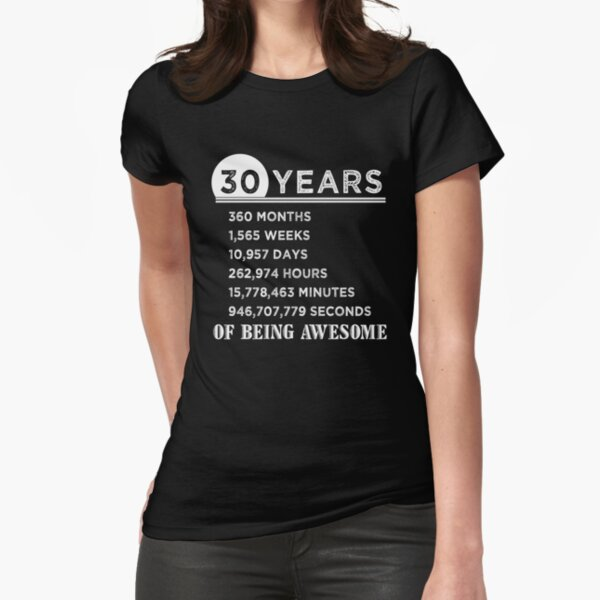 Awesome 6 Year Old Looks Like 6th Birthday Gift Girls Fitted T-Shirt