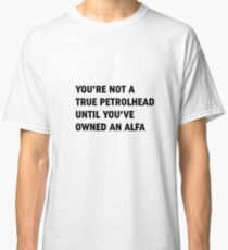 Clarkson Alfa Romeo owner quote Classic T-Shirt