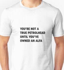 Clarkson Alfa Romeo owner quote Unisex T-Shirt