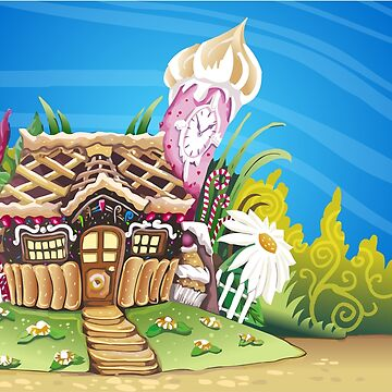 Fantasy Marzipan Sweets House by aurielaki