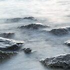 Rough Silver Rocks and Soft Waves by Georgia Mizuleva