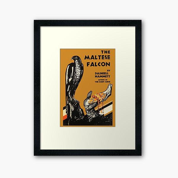 The Maltese Falcon Dashiell Hammet First Edition Cover Framed Art Print