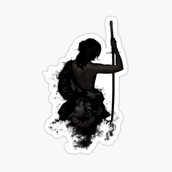 Female Samurai - Onna Bugeisha Sticker