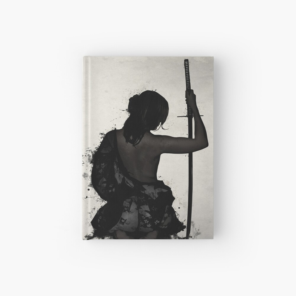 Female Samurai - Onna Bugeisha Hardcover Journal