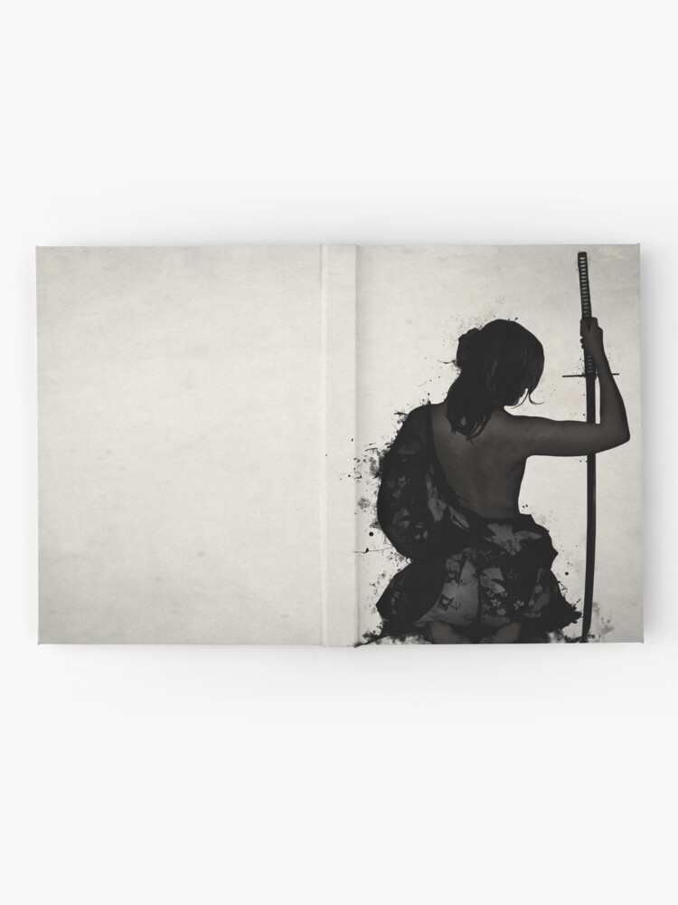 Alternate view of Female Samurai - Onna Bugeisha Hardcover Journal