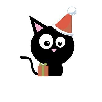 Cute Christmas Santa Claus Cat - Happy New Year by overstyle