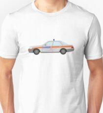 DriveTribe Cartoon Police Car Rozzers Unisex T-Shirt