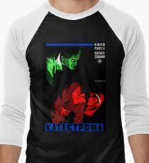 Catastrophe - Soviet Film Poster. Men's Baseball ¾ T-Shirt